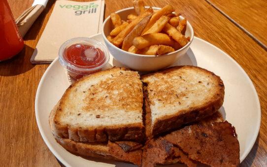 Rueben Sandwich at Veggie Grill