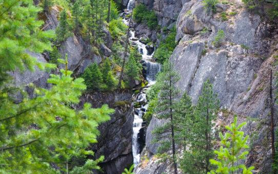 Nameless Waterfall in Idaho