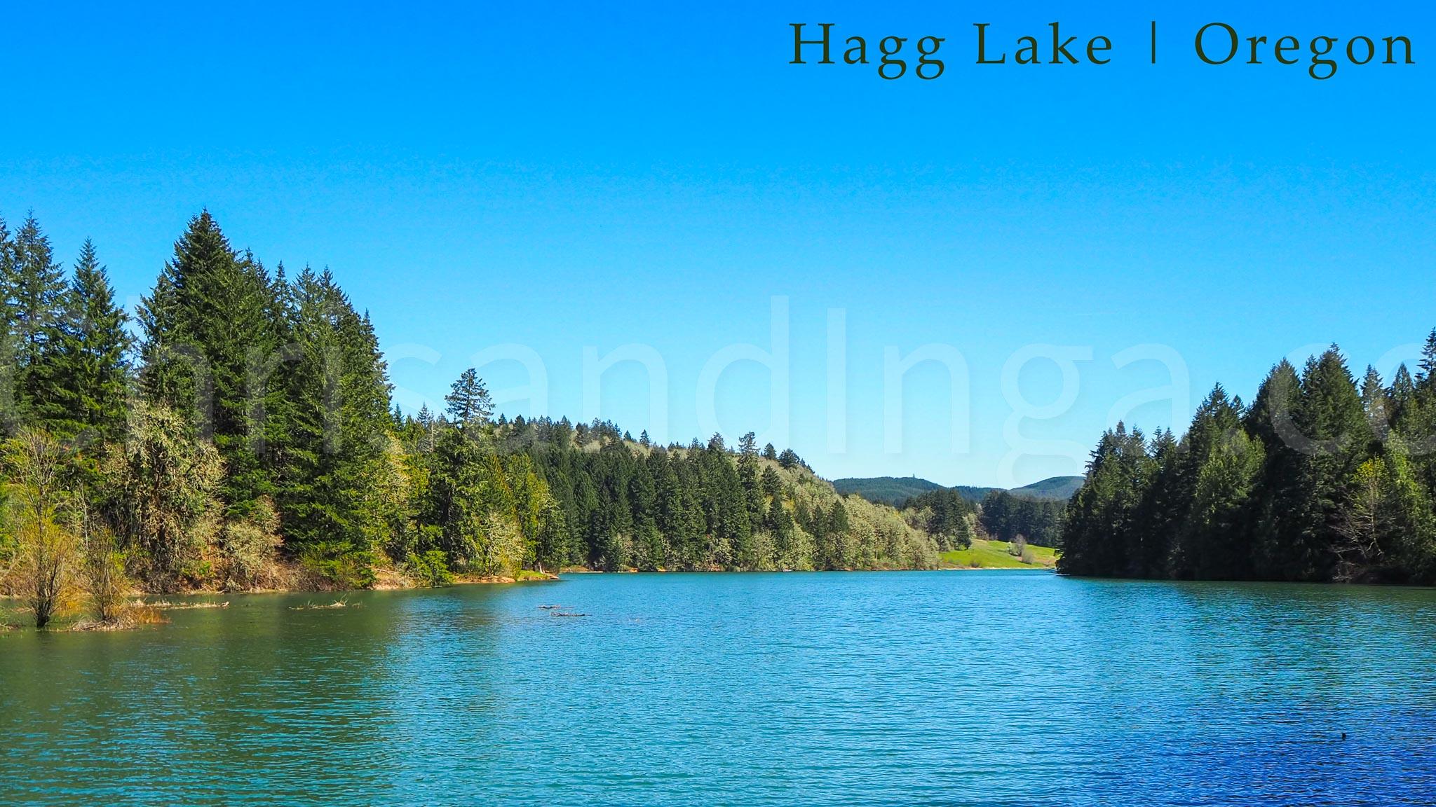 Hagg Lake   Oregon (Watermarked)